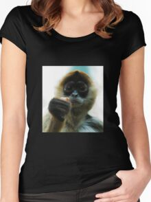 Monkey Women's Fitted Scoop T-Shirt