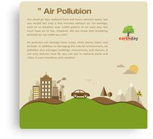 Air Pollution  Canvas Print