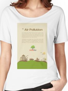 Air Pollution  Women's Relaxed Fit T-Shirt