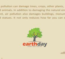 Air Pollution  Sticker