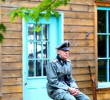 German Field Officer 2 by Jimmy Ostgard