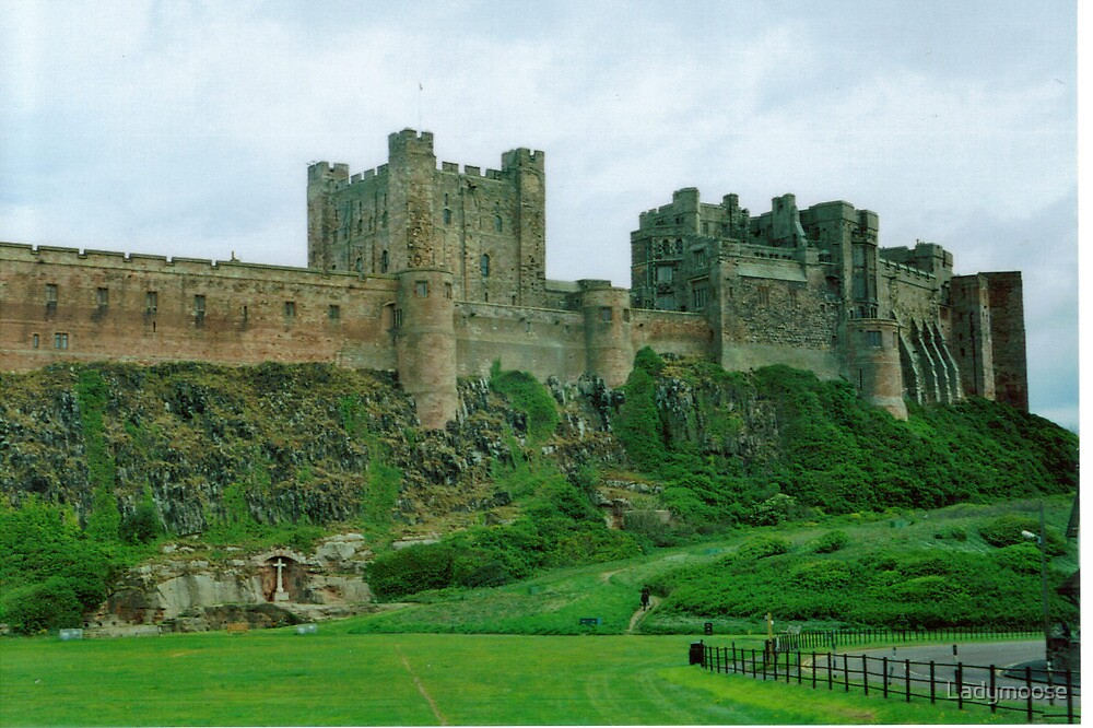 Bamburgh Castle by Ladymoose