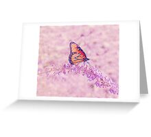 Sage Butterfly Greeting Card