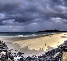 HDR Byron Beach by eyeinthesky