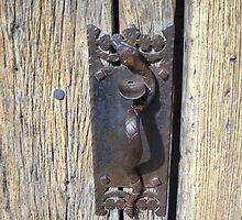Old door knob by Boney