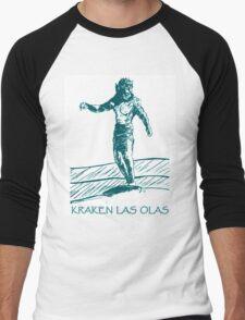 Kraken Las Olas Men's Baseball ¾ T-Shirt