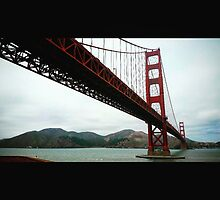 Golden Gate Bridge by Fausto Garcia