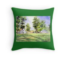 Mission San Luis Tallahassee Florida Throw Pillow