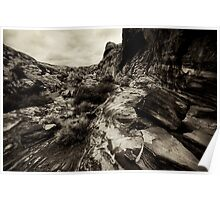Red Rock Canyon II Poster