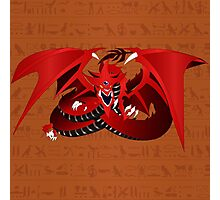 Slifer the Sky Dragon Photographic Print