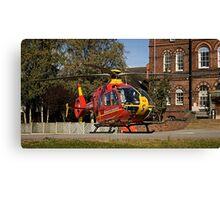 Air Ambulance Canvas Print