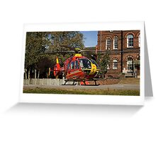 Air Ambulance Greeting Card