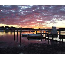 Sunset, Davistown NSW Photographic Print