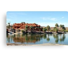 Lake Adobe Canvas Print