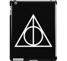 Deathy Hallows pattern iPad Case/Skin