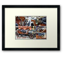 The Old Lady on display Framed Print