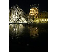Ripples by the Pyramid Photographic Print