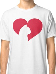 Cat Heart  Classic T-Shirt