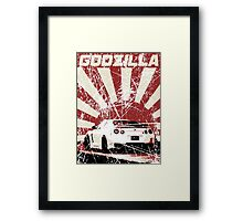 Japan Godzilla - GTR Framed Print