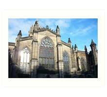 St Giles Cathedral, Edinburgh Art Print