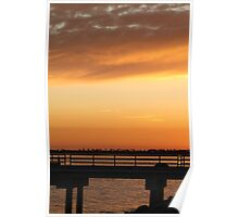 Chula Vista Sunset Poster