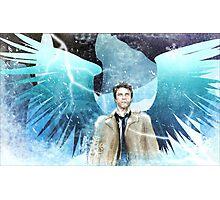 Frozen Castiel Photographic Print
