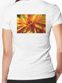 Feathery Petal Women's Fitted V-Neck T-Shirt