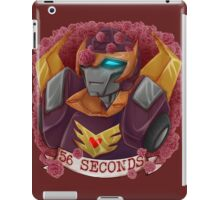 56 Seconds iPad Case/Skin