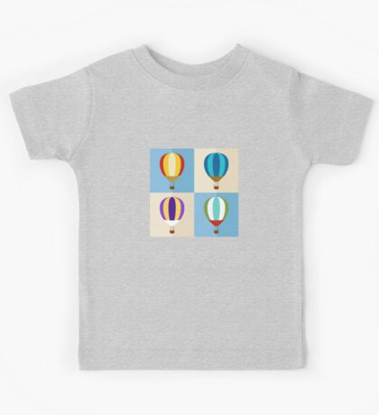 hot air balloon Kids Tee