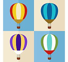 hot air balloon Photographic Print