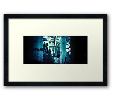 Metro 1 Framed Print