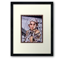 electronic Photography Framed Print