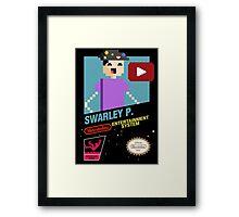 NES Swarley P. Framed Print