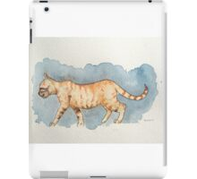 Water Color Cat iPad Case/Skin