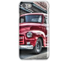 Red Pickup iPhone Case/Skin