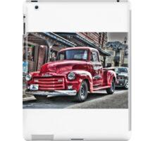 Red Pickup iPad Case/Skin