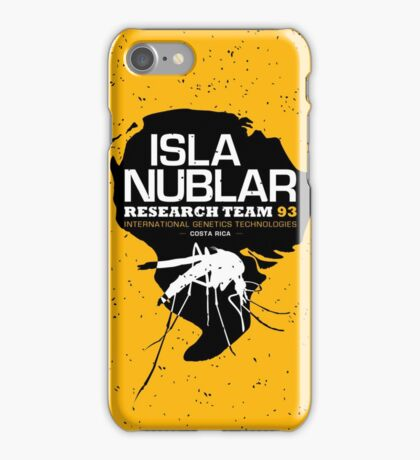 Isla Nublar Research Team iPhone Case/Skin
