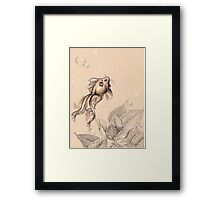 Flying FancyTail Mermouse Framed Print