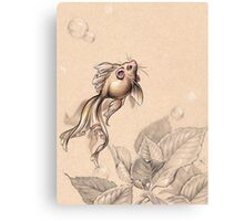 Flying FancyTail Mermouse Canvas Print