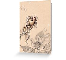 Flying FancyTail Mermouse Greeting Card