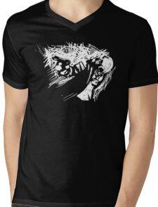 Alone In The Dark Mens V-Neck T-Shirt
