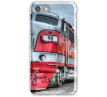 Red Engine iPhone Case/Skin