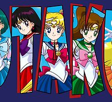 Otaku Word: Sailor Scouts by happihentai