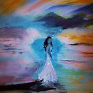 Her white dress by Nalini Bhat