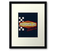 TORGUE- BADASS BREW OF BADASSITUDE! (MANUFACTURER LINE) Framed Print