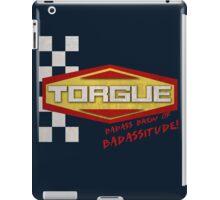 TORGUE- BADASS BREW OF BADASSITUDE! (MANUFACTURER LINE) iPad Case/Skin