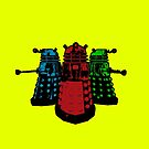 Pop Daleks by Cosmodious