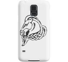Skyrim Distressed Whiterun Logo - B&W Samsung Galaxy Case/Skin