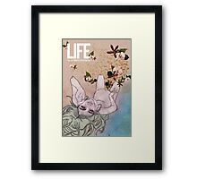 Life. Love of Nature Framed Print