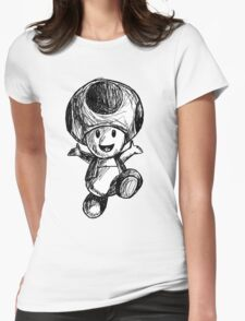 Toad Womens Fitted T-Shirt